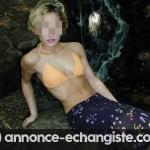 Très jolie blonde célibataire pour rencontre au Rex Club Sauna