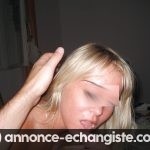 Jolie Blonde Salope