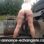 Belle blonde soumise offerte Angers
