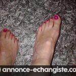 Je recherche un homme fétichiste des pieds pour relation coquine (Lyon)