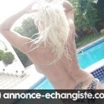 Cannes, belle blonde mariée attends deux beaux blacks ou jeunes rebeus